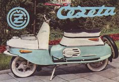 BZ's BMW Isetta Cezeta 502 - Made by CZ in Czechoslovakia. It's a with electric start. Moped Scooter, Vespa Scooters, Bmw Isetta, Motor Scooters, Old Bikes, Retro Futurism, Cars And Motorcycles, Motorbikes, Vehicles
