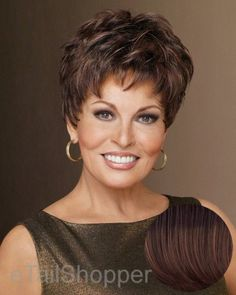 Winner by Raquel Welch Wigs,Chestnut by Raquel Welch. $102.85. Rquel Welch. Memory cap. Short wig. Under two ounces in weight, this light little pixie features razor-like tapering of barely waved layers. Ready to wear with a firm shake right out of the box, this short boy cut is as easy to style as it is comfortable to wear! The Winner wig by Raquel Welch has open ear tabs and the extended nape. The Memory Cap II capless construction is cool, lightweight and actually molds to...