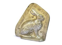 Vintage French Easter Rabbit Chocolate Mold. by LeBonheurDuJour, $45.00