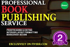 In this service, I offer the full package of preparing you MANUSCRIPT OR BOOK FOR PUBLISHING, to meet the specification of Both online and offline printing website.