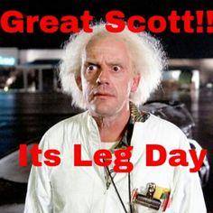 bahahaha! #legday  #sweatinstyle #onesquatshop   Well, not today but it's coming... dun dun dun... tomorrow or the next day... crap. lol
