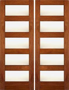 AAW Doors Inc — RB-02 Matte Glass