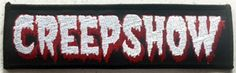 Creepshow patch George Romero Stephen King by inkedupmerch on Etsy https://www.etsy.com/listing/286842909/creepshow-patch-george-romero-stephen