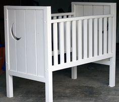 Homemade crib.