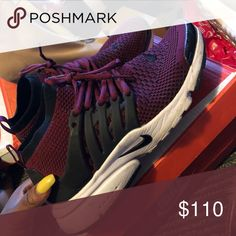 low priced 7db84 2ac1b Nike Air presto Burgundy. Customized Nike Shoes Sneakers