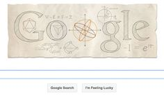 Leonhard Euler, the Influential Swiss Mathematician, has the 306th Anniversary of his Birth honored by a Google Doodle ~~~ Article via Guardian.co.uk