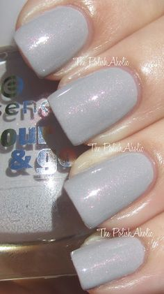 "essence ""grey-t to be here"" - grey creme with hidden pink/orange shimmer"