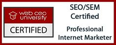 Tracy Terry is Certified in SEO/SEM. She is a Professional Internet Marketer