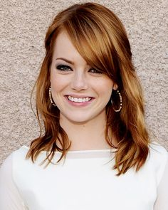 Emma Stone's Dimensional Red - Hair Color 2011 -- Fall 2011 Hair -- Celebrity Hairstyles - Fall Beauty Trends 2011 - Makeup - InStyle