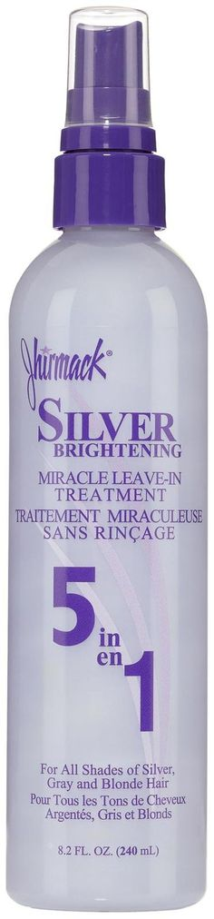 jhirmack silver plus spray..OHH THIS STUFF IS THE MOST AMAZING LEAVE IN CONDITIONER ..MIRACLE IS RIGHT