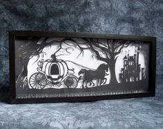 Cinderella's Dream Original Handcut Papercut. I find these so impressive