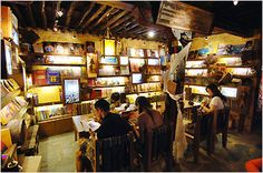 Book bar in Lhasa