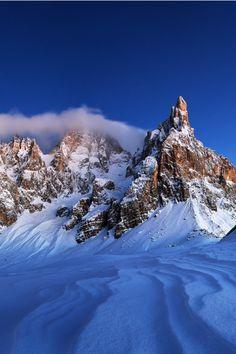 Dolomites, Italy (Enrico Giuliani) #Winter #Snow #Dolomiti Trentino-Alto Adige