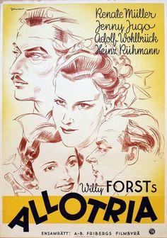 Poster: Allotria Artist: Eric Rohman