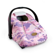 White COZY COVER Infant Carrier Cover  Colors:Pink Camo Cayenne or Green Camo