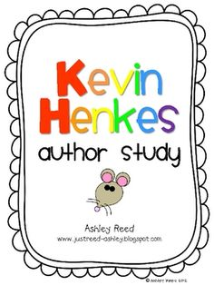 This author study packet features 5 of Kevin Henkes' best loved books (Chrysanthemum, Wemberly Worried, Lilly's Purple Plastic Purse, Chester's Way. The author study part may be used with Penny and her Doll. Elementary Library, Elementary Schools, Library Lessons, Library Ideas, Reading Lessons, Kevin Henkes Books, Teaching Reading, Teaching Ideas, Learning