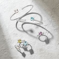 Allow your uniqueness to shine through – with Peekaboo, our jewellery collection for the modern, self-confident woman. Fine Jewelry, Jewellery, Sparkle, Hoop Earrings, Gemstones, Collection, Jewels, Jewelry Shop, Schmuck