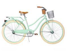 Huffy Women's Deluxe Cruiser Bike, Mint Green, 26-Inch/Medium Huffy,http://www.amazon.com/dp/B00A0I9TKO/ref=cm_sw_r_pi_dp_0Il1sb1MJS56V35S