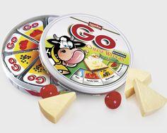 Kaasverpakking design. Meer over kaas? Ga naar http://www.milkstory.nl/artikel/broodje-aap-glaasje-melk-gesmolten-kaas-ongezonder-dan-gewone-kaas