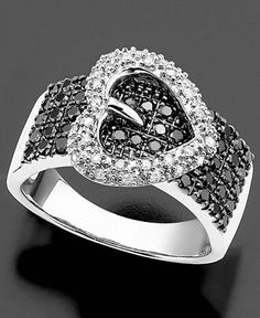 I Love Black & White Diamonds!!