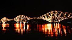 Edinburgh's Forth Rail Crossing. Scotland.