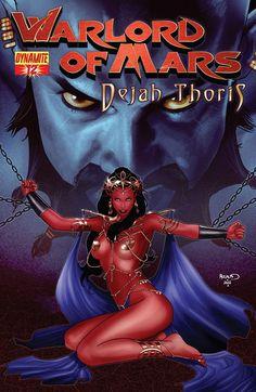 Warlord of Mars Dejah Thoris #12 - Cover: Paul Renaud