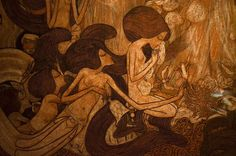 Category:The Three Brides by Jan Toorop Figurative Art, Art Nouveau, Bride, Painting, Random, Artists, Dreams, Wedding Bride, Painting Art