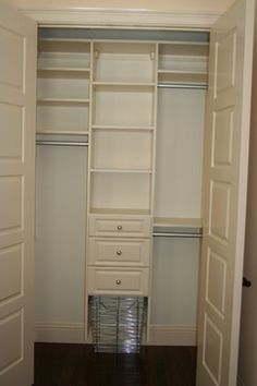Small Closet Design on Pinterest Closet Small Small