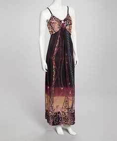 Take a look at this Purple Nakia Maxi Dress by Bacci on #zulily today!