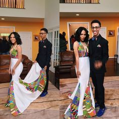 Stylish and Wow Factor Ankara Styles - Wedding Digest Naija Couples African Outfits, African Attire, African Wear, African Dress, African Style, Couple Outfits, African Prom Dresses, African Wedding Dress, Dresses Dresses