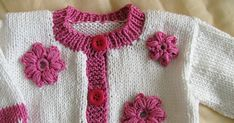 Enjoy these 35 free flower patterns from around the internet. Crochet your own whimsical, beautiful, colorful, creative flowers! Crochet Baby Sweaters, Knitted Hats, Knit Crochet, Flower Patterns, Crochet Patterns, Crochet Ideas, Crochet Projects, Art Projects, Baby Cardigan