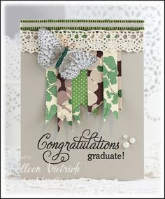 CAS Graduation card using Inspired By Stamping sentiment.