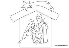 Natale Sagome presepe in natale