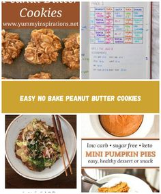 Easy Keto No Bake Peanut Butter Cookies Recipe – Low Carb, Gluten Free & Ketogenic Diet Friendly healthy no bake cookies without oatmeal, flour or sugar and with coconut and nuts. #ketocookies #lobwcarbcookies #peanutbuttercookies #nobakecookies #ketorecipes #ketogenicrecipes #glutenfreecookies no sugar diet Easy No Bake Peanut Butter Cookies