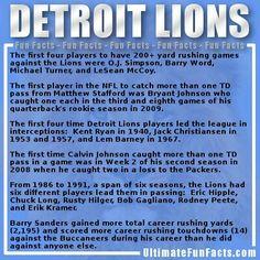 #ThanksgivingFootball #DetroitLions #Detroit #Lions #NFL #trivia #Football #FunFacts #UltimateFunFacts