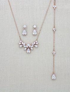 Uhren & Schmuck Luxus Set 2 Tlg Kette Ohrringe Schmuckset Collier Halskette Empire Paris Kristal