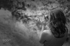 "When you look try to see - ""When you look try to see"" June 2016  Photograph made in the beautiful Schist Village, the Cerdeira (where time does not fly). The simplicity of the model (my muse Sofia), in this beautiful village of Serra da Lousã, in a moment of contemplation and where she tries to ""see instead of just looking"". Human beauty(on all its human values) in the contemplation of natural beauty and of other times in the heart of Nature. The perfect symbiosis.  Can also be seen in HQ…"