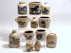 Carolyn Curran Stoneware Jugs and Crocks