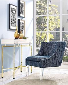 Shop TOV Furniture Myra Blue Textured Velvet Chair with great price, The Classy Home Furniture has the best selection of Chairs to choose from Blue Velvet Chairs, Blue Accent Chairs, Velvet Accent Chair, Velvet Furniture, Dining Furniture, Home Furniture, Furniture Design, Furniture Outlet, Online Furniture