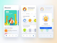 Hi Dribbblers,I tried to explore an UI concept about online course mobile app. The app concept has gamification on it, where the user needs to complete every step before reaching the final. Web Design, Game Ui Design, Design Layouts, Flat Design, Graphic Design, Mobile App Ui, Mobile App Design, Parallax Effect, Mobiles