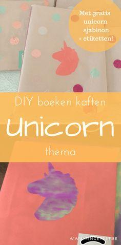 Unicorn DIY boeken kaften   Gratis eenhoorn sjabloon & etiket   PinGetest Unicorn Diy, Diys, Blog, Instagram, Bricolage, Do It Yourself, Blogging, Homemade, Diy