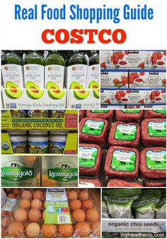 Real Food Shopping Guide for Costco from My Heart Beets.  Great list!  Definitely going to review it again before my next shopping trip.  I hadn't realized Costco carries avacado oil or grass-fed beef.  I'll be on the look out now!  www.onedoterracommunity.com   https://www.facebook.com/#!/OneDoterraCommunity