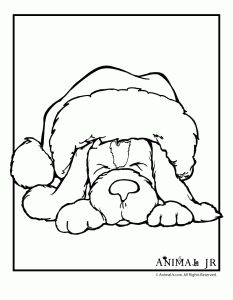 Christmas Printables: Puppy Coloring Pages Christmas Puppy Coloring Page 1 – Animal Jr. Make your world more colorful with free printable coloring pages from italks. Our free coloring pages for adults and kids. Puppy Coloring Pages, Coloring Book Pages, Coloring For Kids, Snowman Coloring Pages, Free Coloring, Santas Letter, Illustration Noel, Illustrations, Christmas Puppy