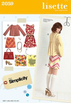 Simplicity 2059. Mine says 0353