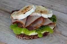 Perunalimppu on oiva pari vuohenjuustolle. Lihaisa vuohenjuustoleipä onkin syksyyn sopiva välipala!