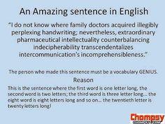 awesome sentence