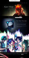 Headphones with ears