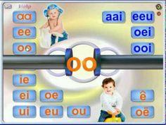 Leer jou kind van Dubbel-, twee- en drieklanke. - YouTube Afrikaans, Classroom, Teaching, Grade 1, Kind, Words, Schools, Youtube, Google Search