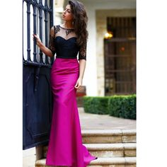 Find More Evening Dresses Information about 2016 New Arrival Lace Spring Evening Dresses Vintage Satin Sheer Floor Length Evening Gowns Half Sleeves Long Prom Dress,High Quality dresses made to order from china,China gown cotton Suppliers, Cheap dress ny from Kingshow Bridal on Aliexpress.com