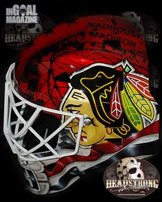 Scott Darling Chicago roots mask (2 of 6) please follow me,thank you i will refollow you later